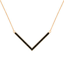 Buy Melissa Odabash Swarovski Crystal V Necklace Online at johnlewis.com