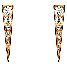 Buy Melissa Odabash Swarovski Crystal Arrow Drop Earrings Online at johnlewis.com