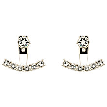 Buy Melissa Odabash Swarovski Crystal Crescent Drop Earrings Online at johnlewis.com