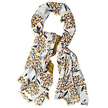 Buy White Stuff Heart Bouquet Scarf, Teal/Multi Online at johnlewis.com
