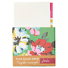 Buy Joules Magnetic Memo Pad Online at johnlewis.com
