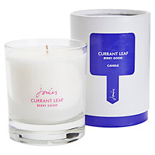 Buy Joules Currant Leaf Scented Candle Online at johnlewis.com