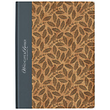 Buy Hinchcliffe & Barber Songbird Grey Notebook Online at johnlewis.com