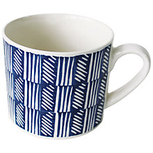 Buy Hinchcliffe & Barber True Blue Repeat Mug Online at johnlewis.com