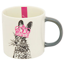 Buy Joules Hare Print Mug Online at johnlewis.com