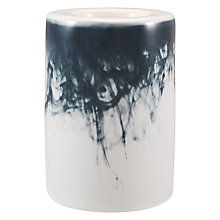 Buy John Lewis Water Pattern Small Tealight Holder, Blue/White Online at johnlewis.com