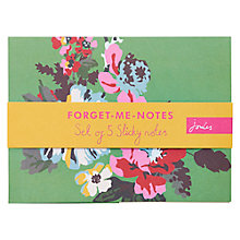 Buy Joules Sticky Notes Pack Online at johnlewis.com