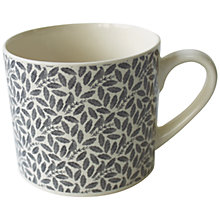 Buy Hinchcliffe & Barber Songbird Ditsy Mug, Grey Online at johnlewis.com