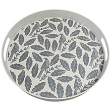 Buy Hinchcliffe & Barber Songbird Tray, Grey Online at johnlewis.com