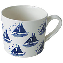 Buy Hinchcliffe & Barber True Blue Sailing Mug Online at johnlewis.com