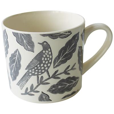 Hinchcliffe & Barber Songbird Mug, Grey