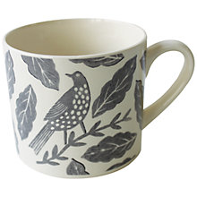 Buy Hinchcliffe & Barber Songbird Mug, Grey Online at johnlewis.com