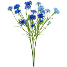 Buy Floralsilk Cornflowers, Blue, Bunch of 3 Online at johnlewis.com