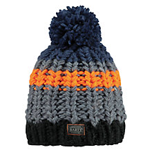 Buy Barts Coulton Beanie, One Size, Grey/Multi Online at johnlewis.com