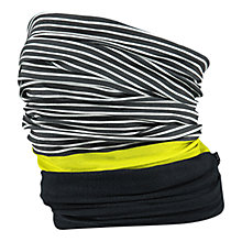 Buy Barts Stripe Print Polar Snood, One Size, Black/White Online at johnlewis.com