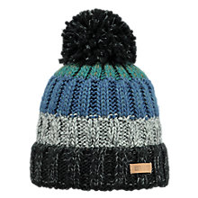 Buy Barts Wilhelm Beanie, One Size, Black/Multi Online at johnlewis.com