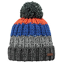 Buy Barts Wilhelm Beanie, One Size, Grey/Multi Online at johnlewis.com