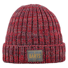 Buy Barts Leroy Beanie, One Size, Red Online at johnlewis.com