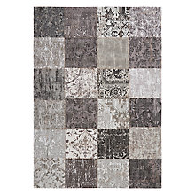 Buy John Lewis Mystique Patch Rug, Black Online at johnlewis.com