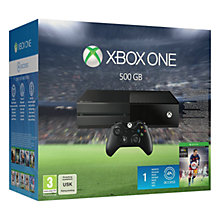 Buy Microsoft Xbox One Console with FIFA 16 Online at johnlewis.com
