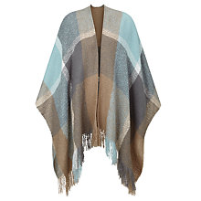 Buy Gerry Weber Check Wrap, Taupe/Glacier Online at johnlewis.com