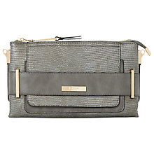 Buy Dune Emma Snake Print Clutch Bag Online at johnlewis.com