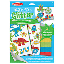 Buy Melissa & Doug Mess-Free Glitter Sticker Maker Kit Online at johnlewis.com