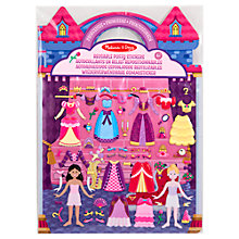 Buy Melissa & Doug Reusable Puffy Sticker Princess Set Online at johnlewis.com