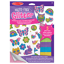 Buy Melissa & Doug Glitter Friendship Foam Stickers Set Online at johnlewis.com