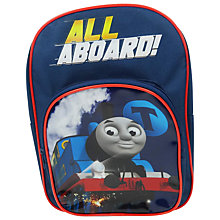 Buy Thomas the Tank Engine All Aboard Backpack Online at johnlewis.com