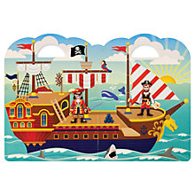 Buy Melissa & Doug Reusable Puffy Sticker Pirate Set Online at johnlewis.com
