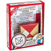 Buy Professor Puzzle Mind Muddler's Tangram Puzzle And Book Pack Online at johnlewis.com