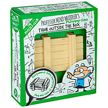 Buy Professor Puzzle Mind Muddler's Think Outside The Box Puzzle Online at johnlewis.com