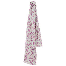 Buy Mango Kids Animal Print Scarf, Purple Online at johnlewis.com