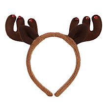 Buy John Lewis Christmas Reindeer Antlers Online at johnlewis.com