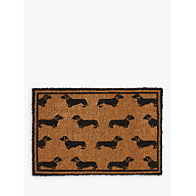 Buy Emily Bond Dachshund Doormat Online at johnlewis.com