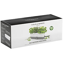 Buy Cole & Mason Self-Watering Herb Keeper Online at johnlewis.com