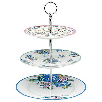 Cath Kidston Highgate Rose 3 Tier Cake Stand