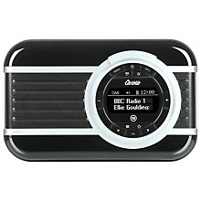 Buy View Quest Christie DAB/FM NFC Bluetooth Digital Radio, Noir, Limited Edition Online at johnlewis.com