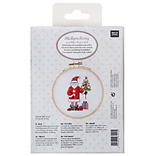 Buy Rico Santa Claus Christmas Embroidery Set Online at johnlewis.com