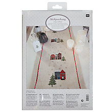 Buy Rico Houses Table Runner Embroidery Kit Online at johnlewis.com