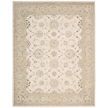 Buy John Lewis Zephyr Rug, Ivory/Green Online at johnlewis.com