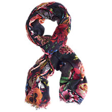 Buy Chesca Flower Print Scarf, Multi Online at johnlewis.com