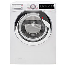 Buy Hoover Dynamic Wizard DWT L413AIW3/1 Freestanding Wi-Fi Washing Machine, 13kg Load, A+++ Energy Rating, 1400rpm Spin, White/Chrome Online at johnlewis.com