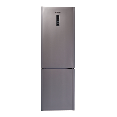 Image of Hoover Wizard HF18XK Freestanding Wi-Fi Fridge Freezer, A+ Energy Rating, 60cm Wide, Stainless Steel