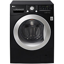 Buy LG FH4A8FDN8 Freestanding Washing Machine, 9kg Load, A+++ Energy Rating, 1400rpm Spin, Black Online at johnlewis.com