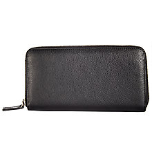 Buy Collection WEEKEND by John Lewis Margo Triple Zip Leather Purse Online at johnlewis.com