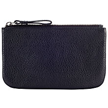 Buy John Lewis Margo Leather Coin Purse, Black Online at johnlewis.com