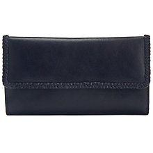 Buy John Lewis Plait Leather Flapover Purse Online at johnlewis.com