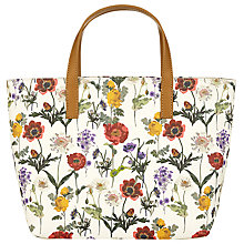 Buy John Lewis Floral Print Grab Bag, Multi Online at johnlewis.com